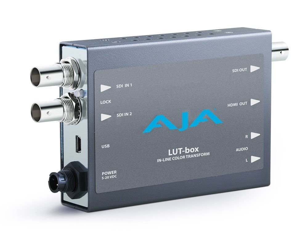 The AJA Lut-box
