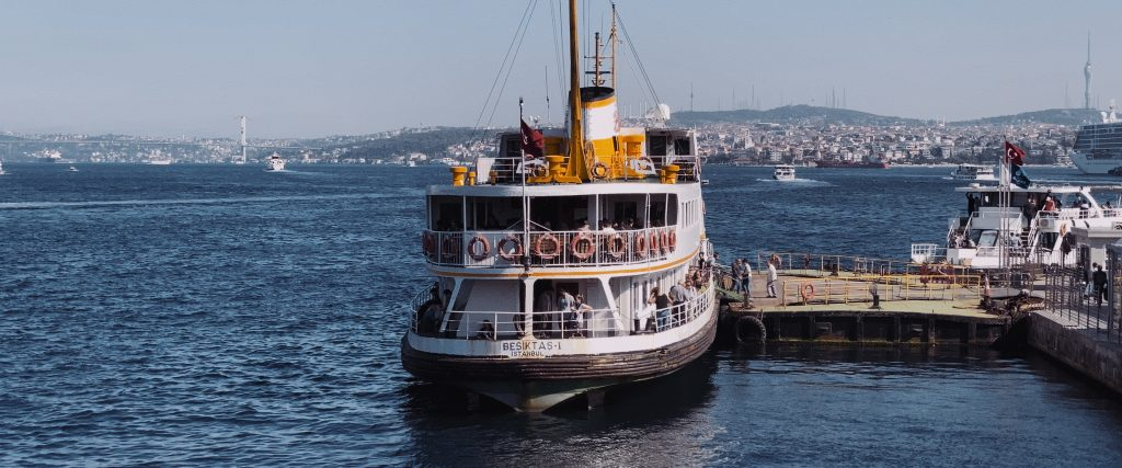 A ferry in Istanbul shot with the iPhone 11 Pro Max telephoto camera.